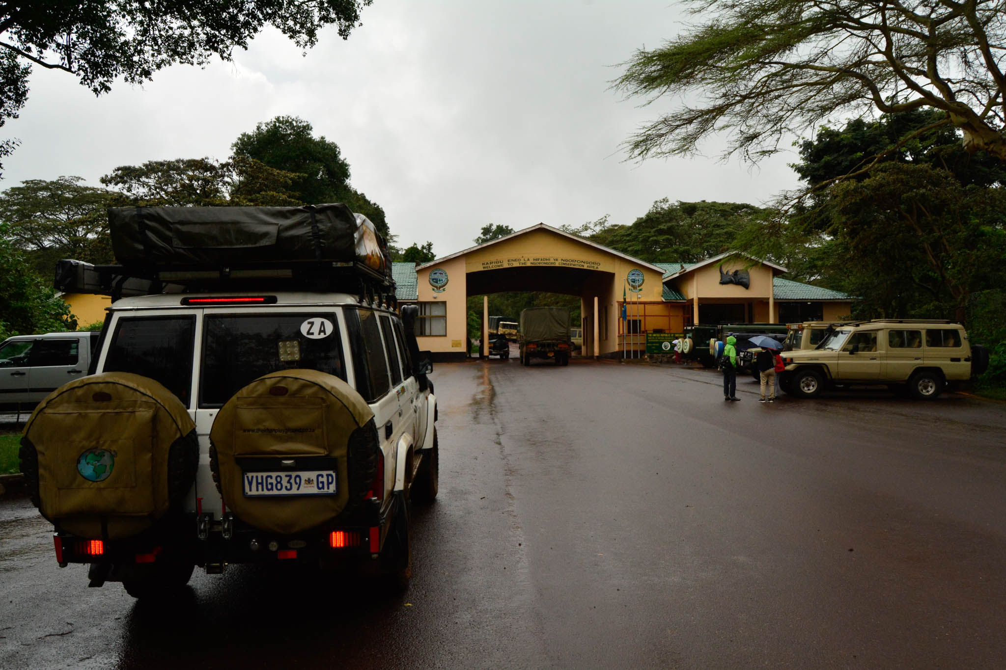Entrance to the Ngorongoro Crater