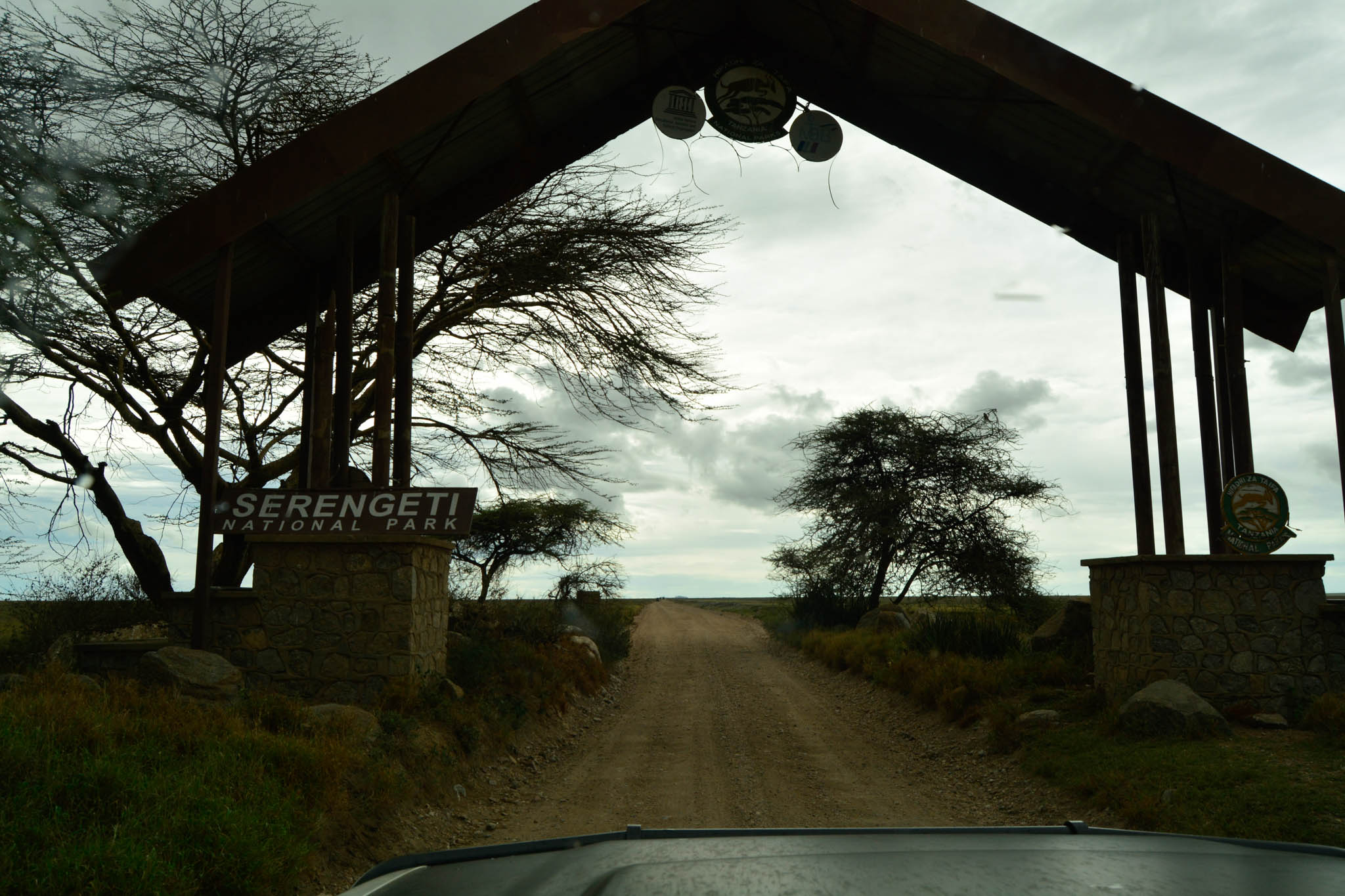 Entrance to the Serengeti