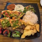 The Syriana Kebab Platter
